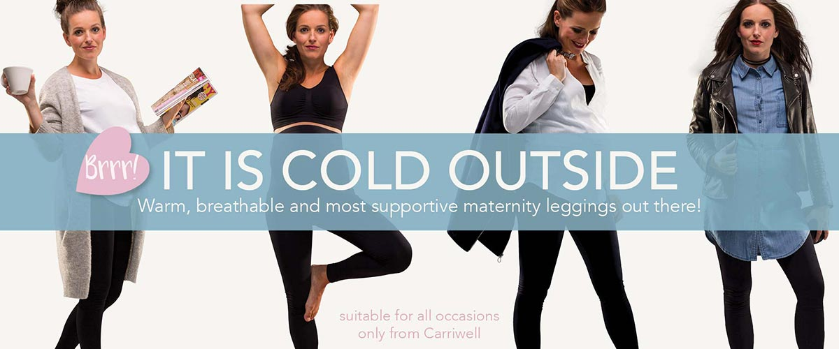 Warm, breathable and most supportive maternity leggings out there!